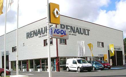 V hicules occasions pays basque agent renault garage antao for Garage renault saint orens